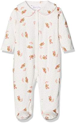 Rachel Riley Baby Girls' Teddy Babygro Bodysuit,(Manufacturer Size: 12M)