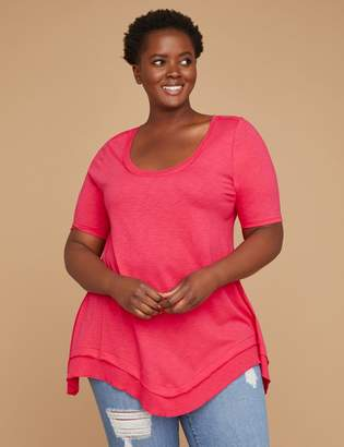 7f79eeb9f98bc8 Lane Bryant Pink Plus Size Tops on Sale - ShopStyle