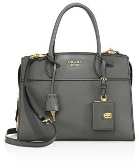 Prada Esplanade Medium Leather Tote $2,400 thestylecure.com