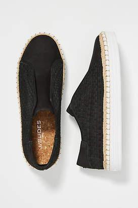J/Slides Woven Slip-on Sneakers