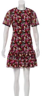 Saloni Embroidered Mini Dress w/ Tags
