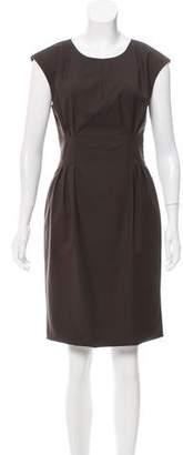 Adam Wool Knee-Length Dress