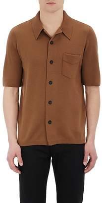 Barneys New York Burberry X Men's Stockinette-Stitched Short-Sleeve Shirt