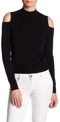 360 Cashmere Melinda Cold Shoulder Sweater $242 thestylecure.com