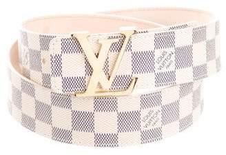 Louis Vuitton Damier Azur 40MM Initiales Belt