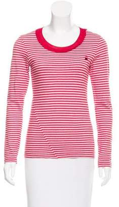 Sonia Rykiel Sonia by Striped Long- Sleeve Top