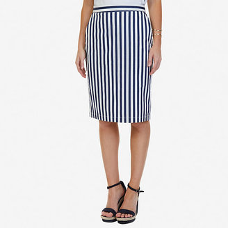 Striped Skirt $49.50 thestylecure.com