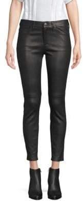 Current/Elliott The Stiletto Leather Skinny Pants