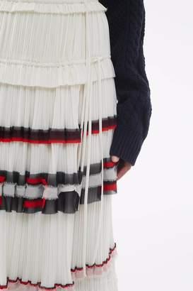 3.1 Phillip Lim Pleated Wrap Skirt