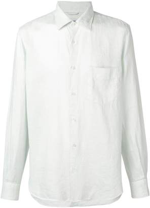 Aspesi long-sleeve fitted shirt