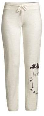Monrow Surf Lodge Vintage Sweatpants