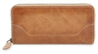 Women's Frye Melissa Leather Wallet - Beige $158 thestylecure.com