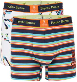 Psycho Bunny 2-Pack Striped Boxer Briefs