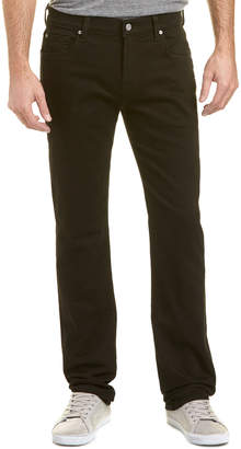 7 For All Mankind Seven 7 Standard True Black Straight Leg