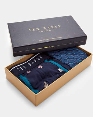 Ted Baker TREE Boxer and sock gift set