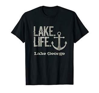 Lake George T Shirt Lake Life New York Tee with Anchor
