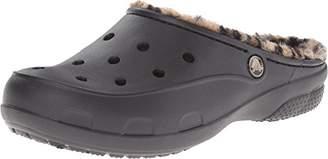 Crocs Women's Freesail Leopard Lined Clog