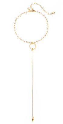 Vanessa Mooney The Julian Drop Choker Necklace $58 thestylecure.com
