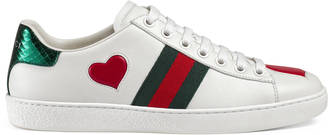 Ace embroidered low-top sneaker $595 thestylecure.com