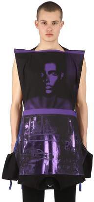 Raf Simons Upside Down Cotton Jersey T-Shirt