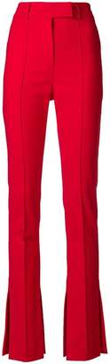 Ssheena slim-fit flared trousers