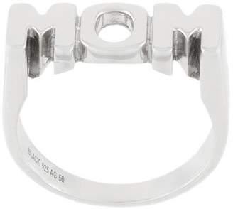 Maria Black Mom ring