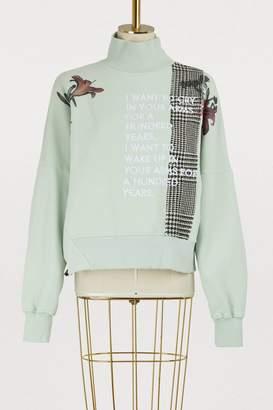 Each X Other Patch sweatshirt