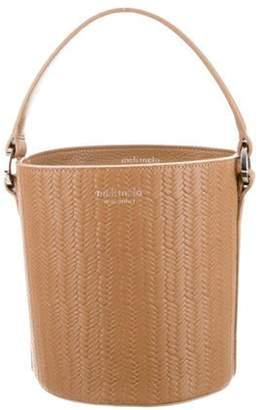 Meli-Melo Leather Bucket Bag brown Leather Bucket Bag