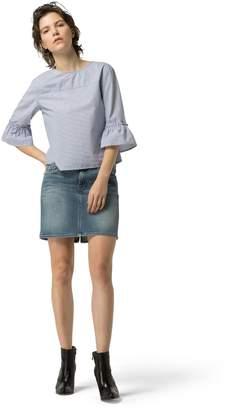 Tommy Hilfiger Vintage Denim Mini Skirt