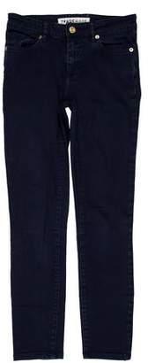 Trademark Mid-Rise Skinny Leg Jeans