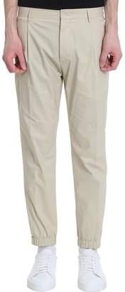 Pt01 Beige Cotton Pants