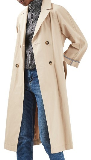 Topshop Women's Topshop Relaxed Trench Coat