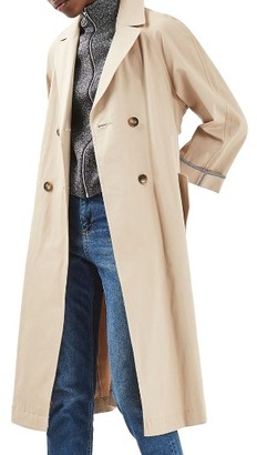 Women's Topshop Relaxed Trench Coat $110 thestylecure.com