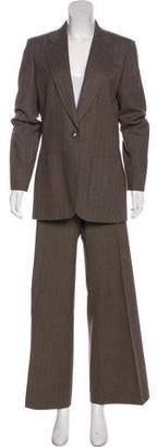 Chloé Wool Stripe Suit