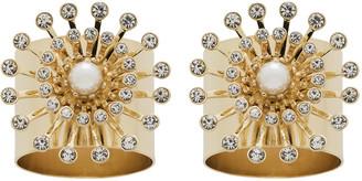 Joanna Buchanan Pearl Star Napkin Rings - Set of 2