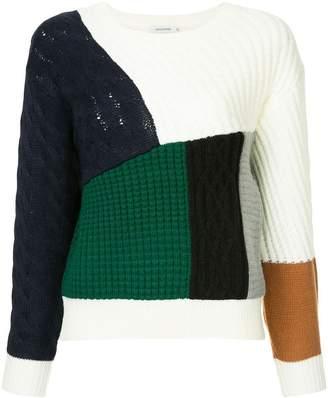 GUILD PRIME patchwork jumper