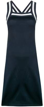 Alexander Wang fitted halterneck dress