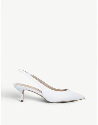 Aldo Nilania slingback leather kitten heels