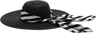Vince Camuto Scarf-band Floppy Hat