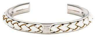 Hermes Leather Knot Cuff