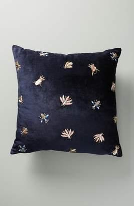 Anthropologie Wyatt Velvet Accent Pillow
