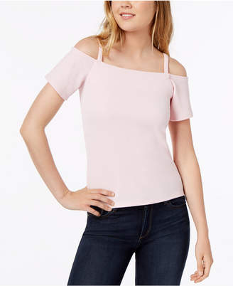Bar III Cold-Shoulder Top