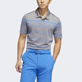 adidas Ultimate365 Dash Stripe Polo Shirt