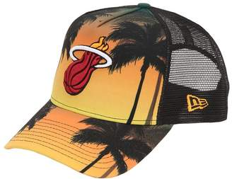 New Era Miami Heat Coastal Heat Trucker Hat
