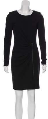Emilio Pucci Crepe Sheath Dress Black Crepe Sheath Dress