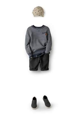 Country Road Stripe Crew Knit