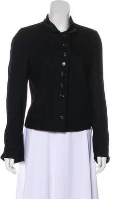 Ann Demeulemeester Cropped Button-Up Jacket