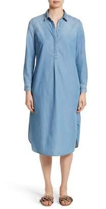 Fabiana Filippi Cotton & Cashmere Chambray Shirtdress
