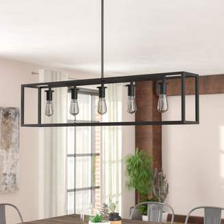 Williston Forge Raeann 5-Light Kitchen Island Pendant