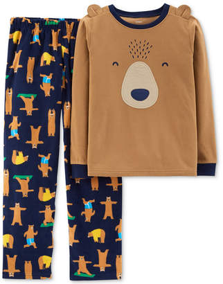 Carter's Little & Big Boys 2-Pc. Bear Pajama Set